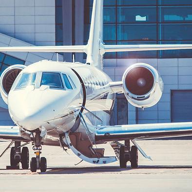 Luxury Jet at FBO