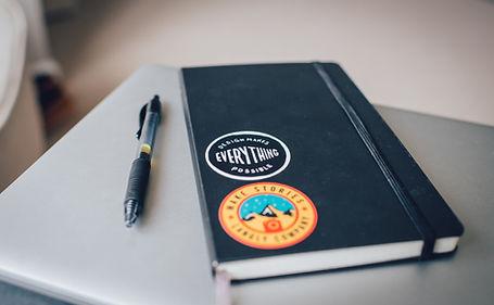Notebook noir