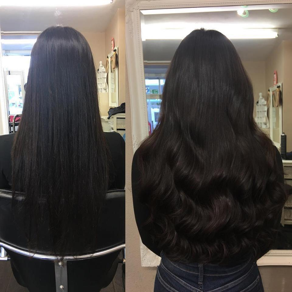 Angelslocks tiny tip hair extensions