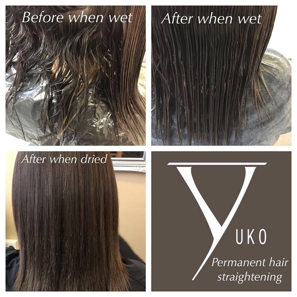 Yuko hair straightening