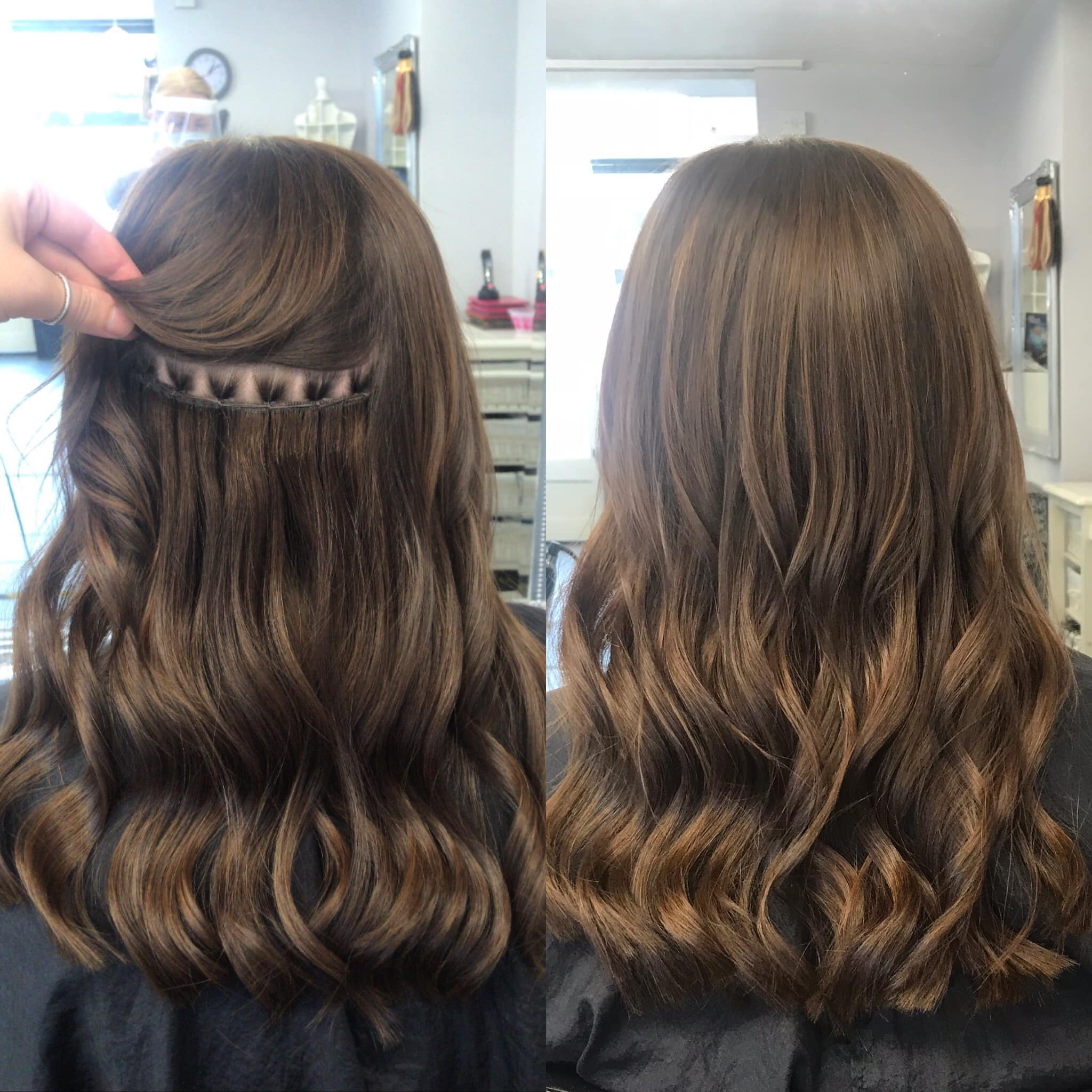 Angelslocks weft extensions