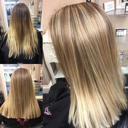 Creative hair colour