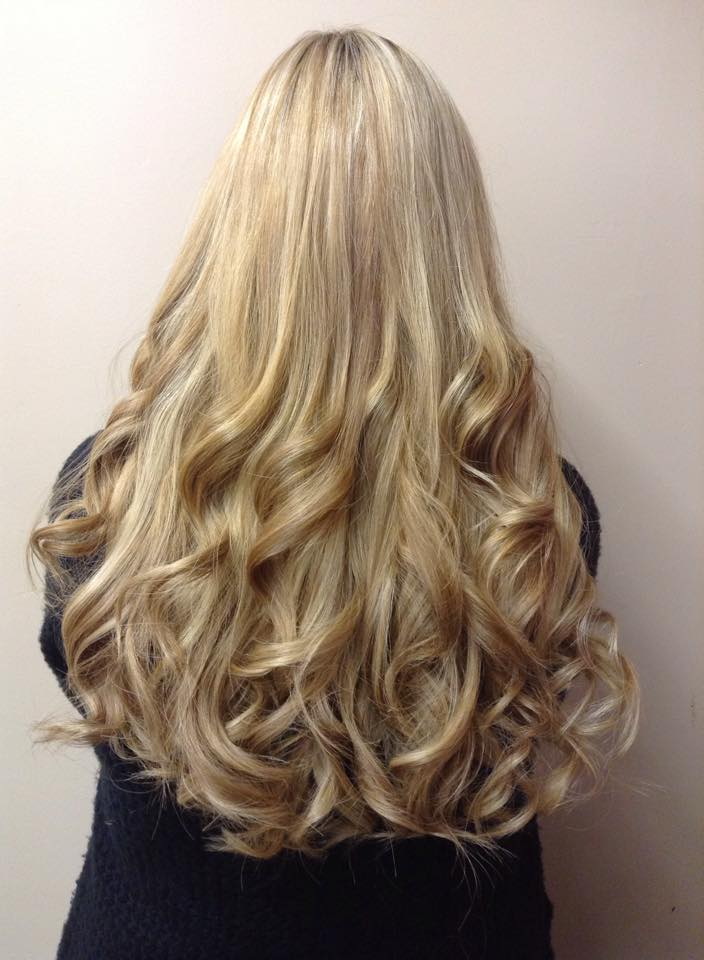 Angelslocks weft hair extensions