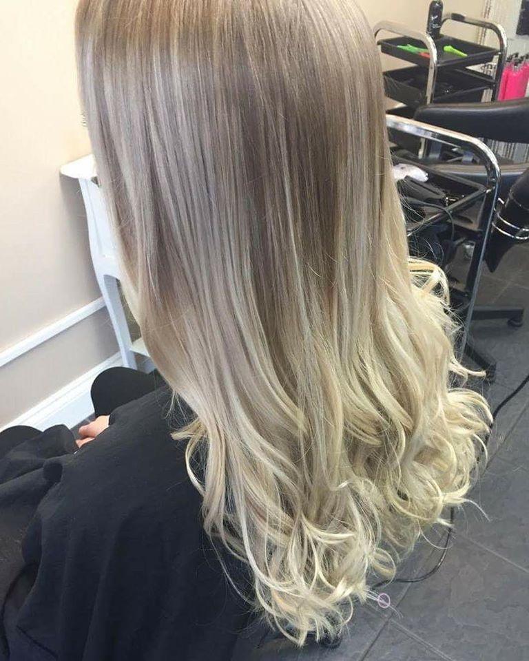 Balyage hair colour