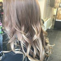 Balyage Ombre hair colour