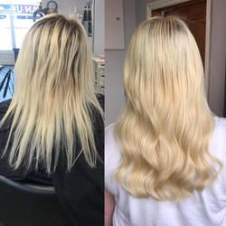 Angelslocks hair extensions