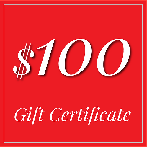 GORGE EATERY $100 GIFT CERTIFICATE