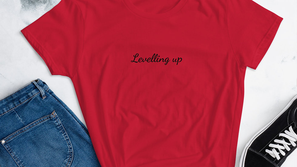 Levelling up Women's short sleeve t-shirt