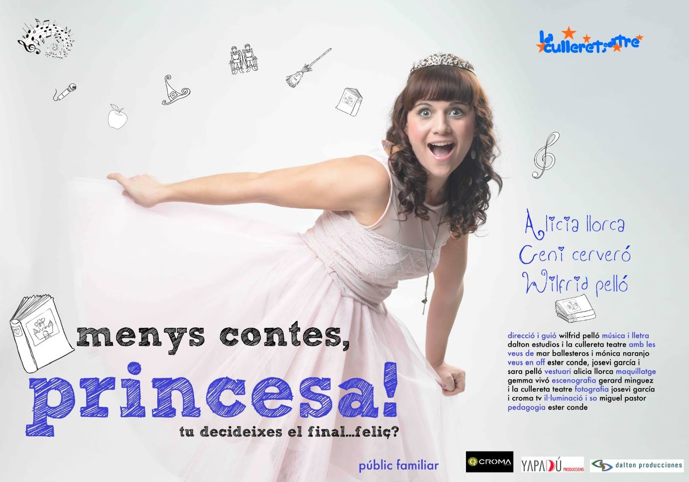 menys contes, princesa
