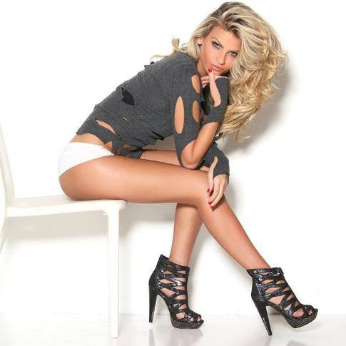 US-Supermodel Heidi Fahrenbach