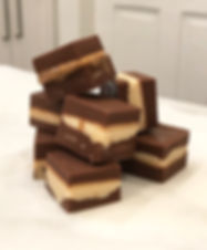 Layered Freezer Fudge