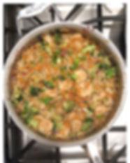 Fried Shrimp Cauliflower Rice