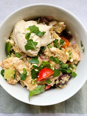 Greek Quinoa Bowl