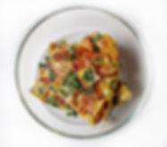 Spicy Kale Egg Bake