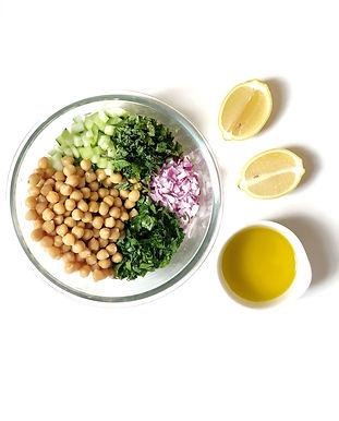 Simple Chick Pea Salad