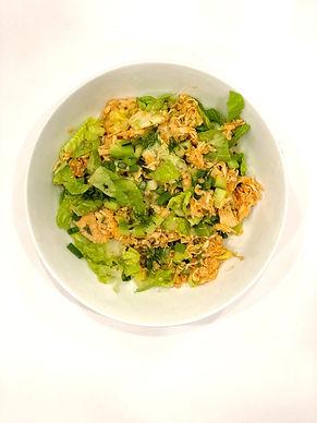 Buffalo Quinoa Chicken Salad