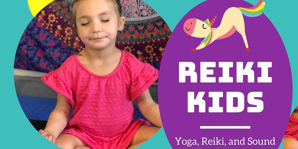 REIKI & YOGA FOR KIDS Session 2