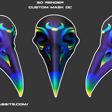 🎭DIY mask project 🎭