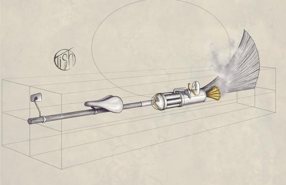 Steampunk Broom
