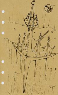 Orc City Ink Sketch