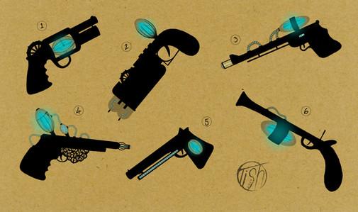Firearm Silhouette Concepts