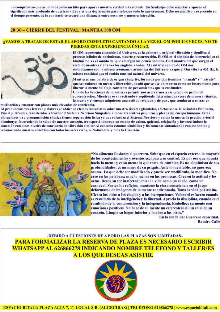VIBRANTEFEST | YOGA | ALGECIRAS