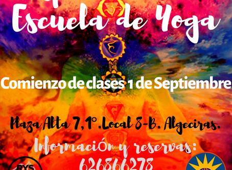 Comienzo de las clases de yoga |SEPTIEMBRE EN ESPACIO BITALI | YOGA ALGECIRAS