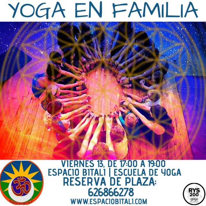 YOGA EN FAMILIA | ESPACIO BITALI | ALGECIRAS