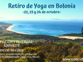 RETIRO DE YOGA EN BOLONIA | 22, 23  Y 24 OCTUBRE | ESPACIO BITALI