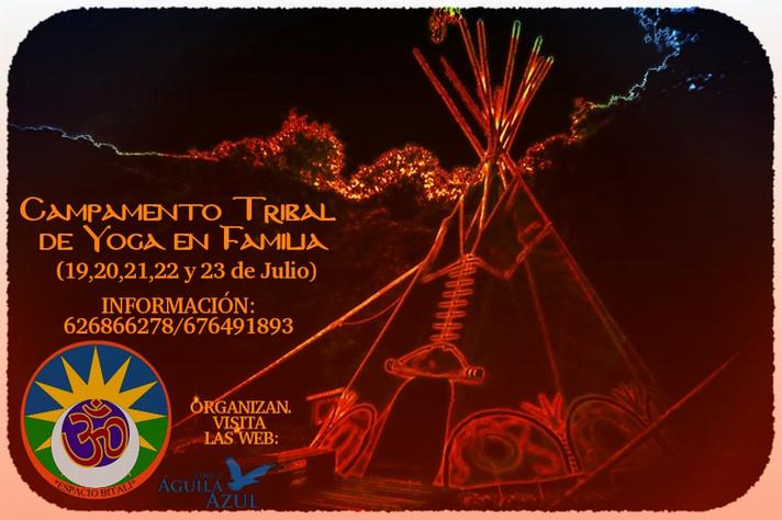CAMPAMENTO TRIBAL DE YOGA EN FAMILIA (19-23 DE JULIO)