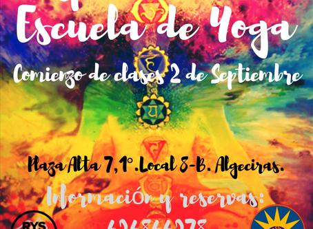 CLASES DE YOGA (Comienzo del nuevo curso 2019/20)   ESPACIO BITALI
