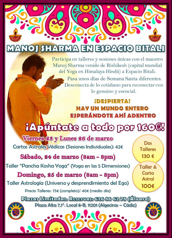 Pancha Kosha Yoga | Astrología | Cartas Astrales| A cargo de Manoj Sharma en Espacio Bitali.