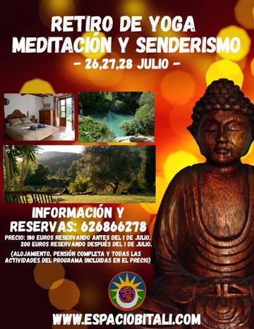 Retiro de Yoga, Meditacion y Senderismo