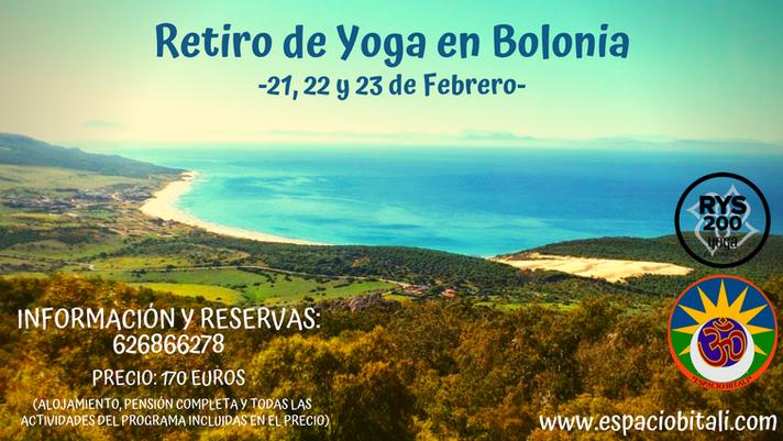 Retiro de Yoga en Bolonia | 21, 22 y 23 de Febrero | Espacio Bitali
