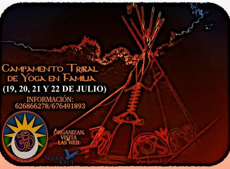 Campamento Tribal de Yoga en Familia | 19,20,21 y 22 de Julio