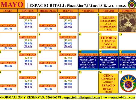 PROGRAMA DE ACTIVIDADES MAYO | ESPACIO BITALI