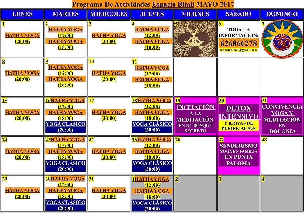 Clases de yoga Algeciras | centro de yoga | yoga Tarifa