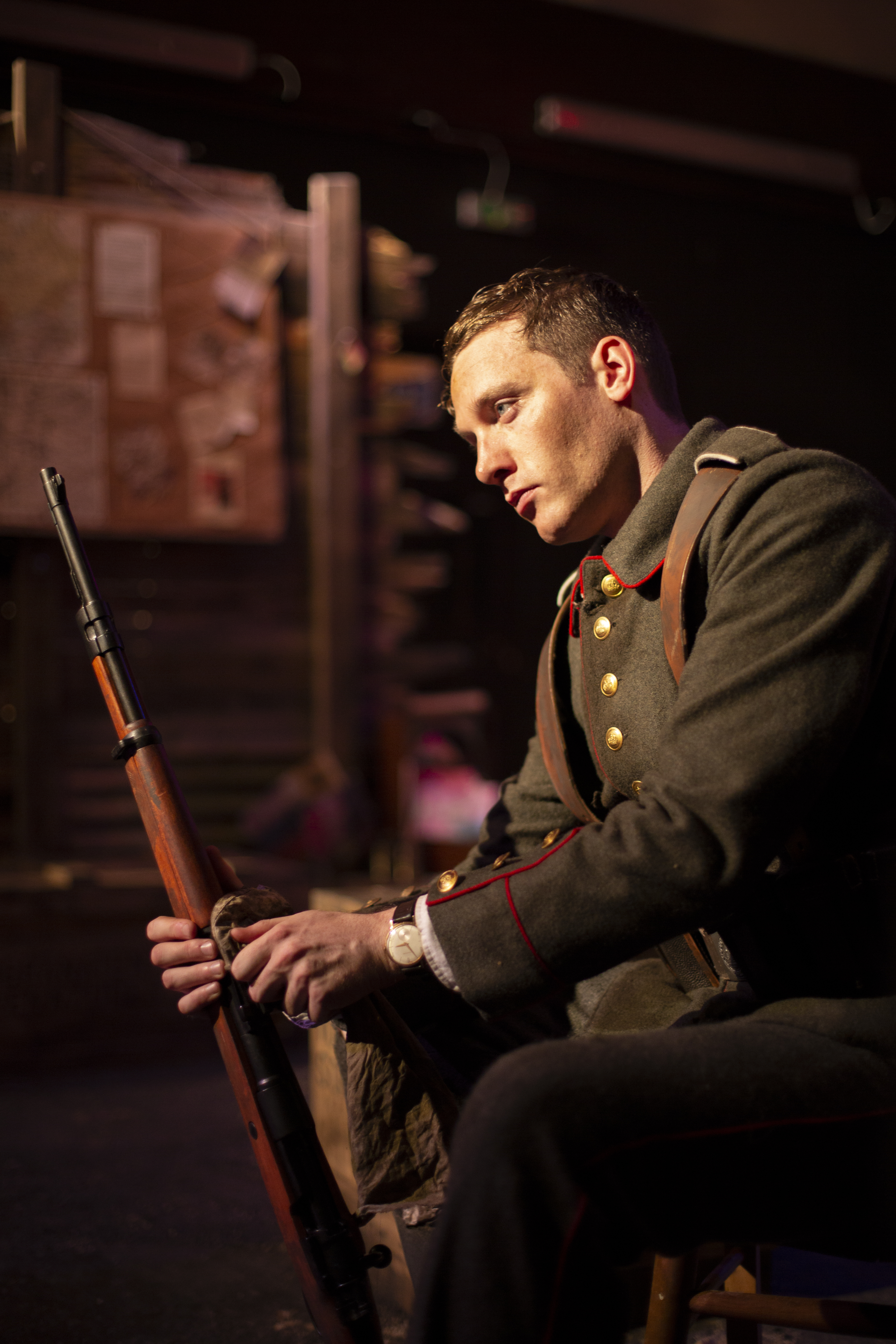 "As Marius in ""The 11th Hour"""