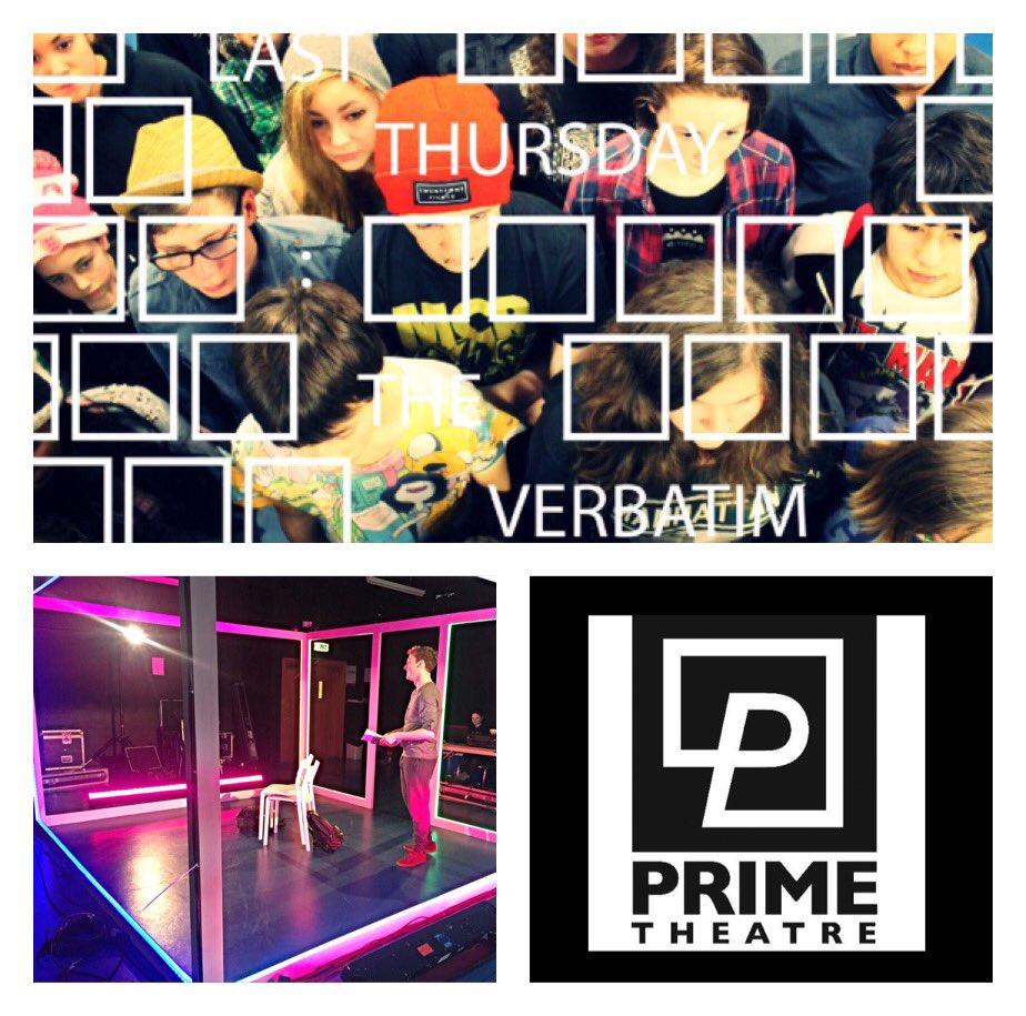 Last Thursday: The Verbatim Project