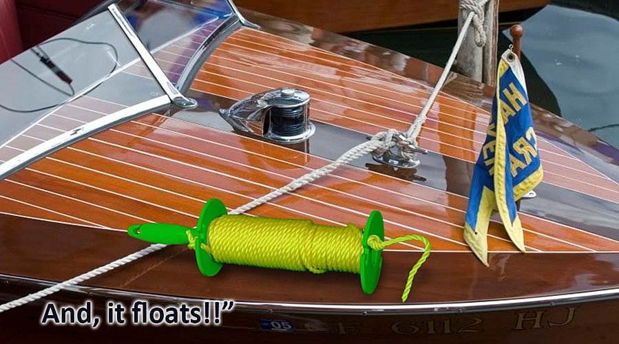 floating water ski rope spools - Christmas Light Storage Reels
