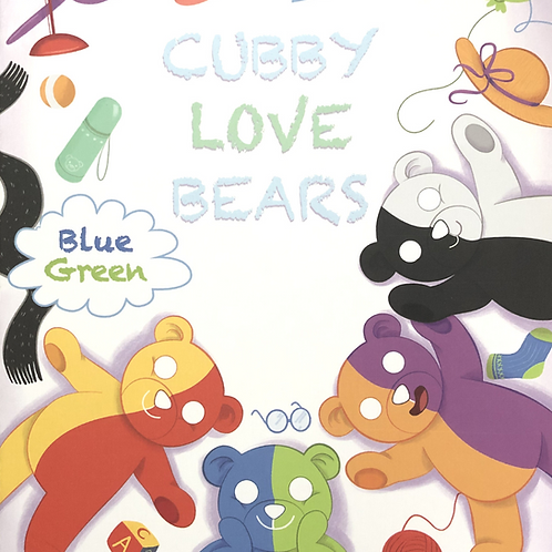 Cubby Love Bear Bilingual Books