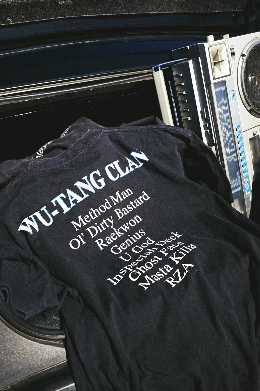 VINTAGE TSHIRT WU-TANG CLAN