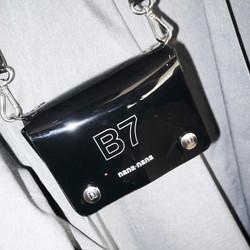 nana-nana black pvc bag