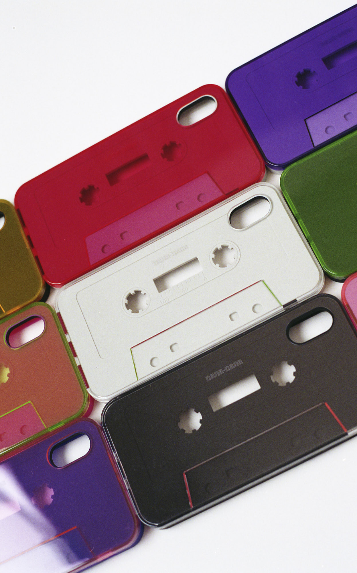nana-nana cassette tape iphone case