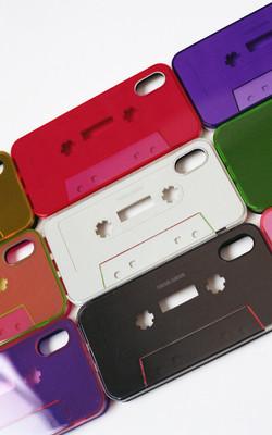 nana-nana cassette tape iphone case