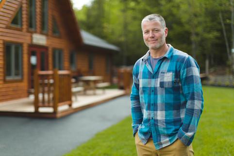 Tim Jones at Tír na nÓg Forest School