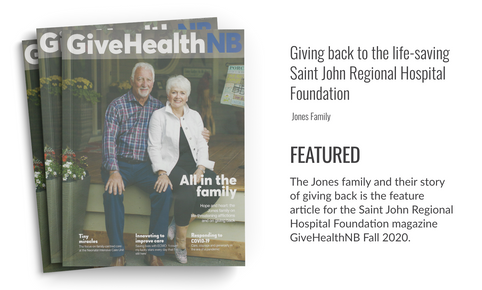 Cover GiveHealth Magazine Fall 2020