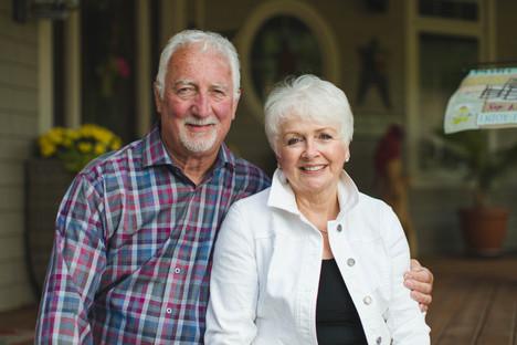 Butch and Cyrstal Jones (Dad and Mom)