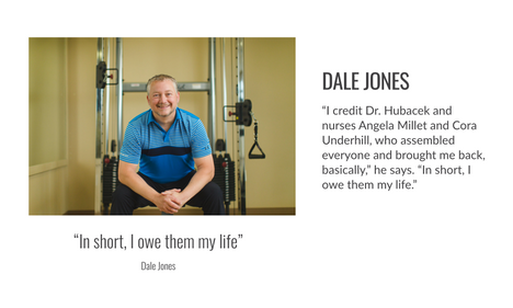 Cover story Dale Jones GiveHealth Magazine Fall 2020