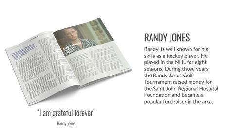 Randy Jones GiveHealth Magazine Fall 2020